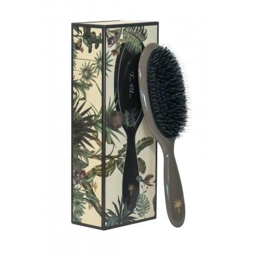 Fan Palm Medium Hairbrush - Mink