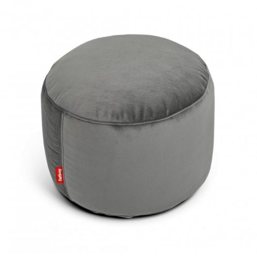 Fatboy Point Velvet Pouf - Taupe
