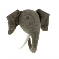 Fiona Walker Elephant Head With Tusks