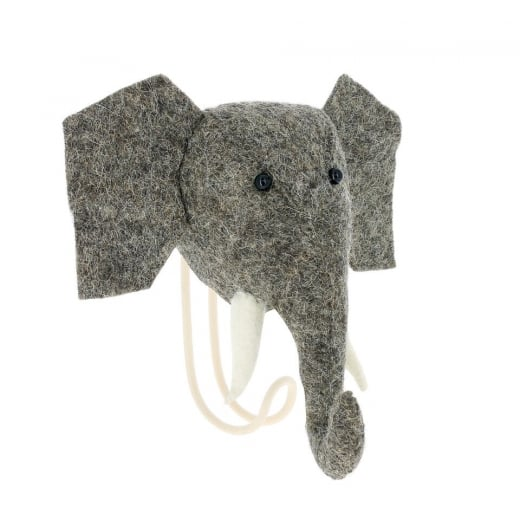 Fiona Walker Large Trunk Hook Elephant
