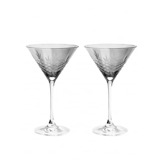 Frederik Bagger Crispy Dark Cocktail Glasses