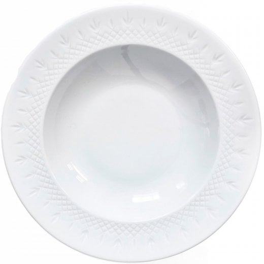 Frederik Bagger Crispy Series Deep Plate - White