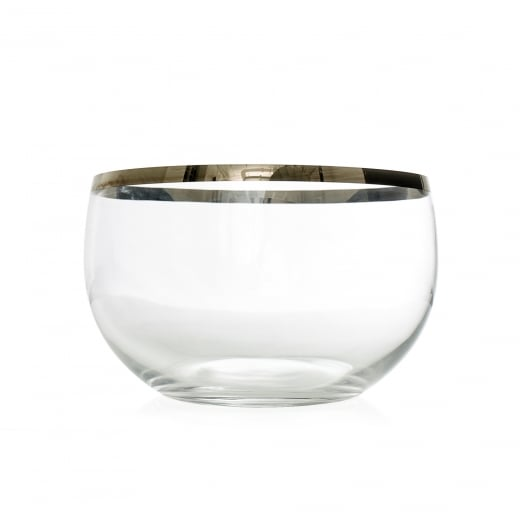 Frederik Bagger Platin Crystal Bowl (Large)