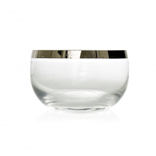 Frederik Bagger Platin Crystal Bowl (Small)