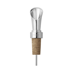 Georg Jensen Cork & Stainless Steel Manhattan Wine Pourer