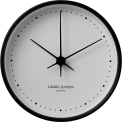 Georg Jensen Henning Koppel Large Stainless Steel Clock