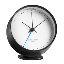 Georg Jensen Henning Koppel Stainless Steel Alarm Clock