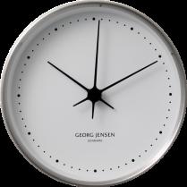 Georg Jensen Henning Koppel Stainless Steel Clock