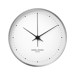 Georg Jensen Henning Koppel Stainless Steel Wall Clock