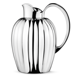 Georg Jensen Large Stainless Steel Bernadotte Thermo Jug