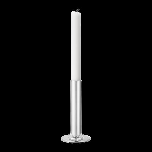 Georg Jensen Large Stainless Steel Manhattan Candle Holder