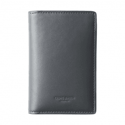 Georg Jensen Mens Grey Leather Wallet