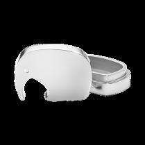 Georg Jensen Mirrored Aluminium Elephant Tooth Box