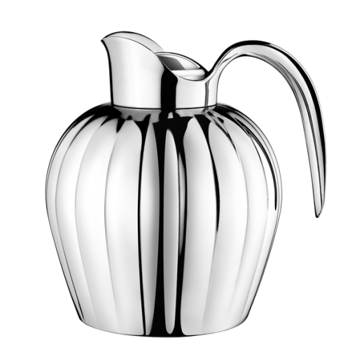 Georg Jensen Small Stainless Steel Bernadotte Thermo Jug