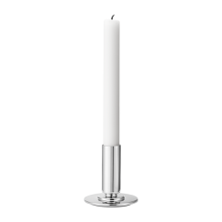 Georg Jensen Small Stainless Steel Manhattan Candle Holder