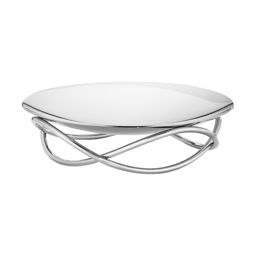 Georg Jensen Stainless Steel Glow Dish - Large
