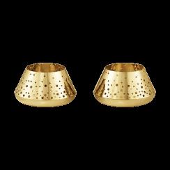 Georg Jensen Tealight Set - Gold Plated