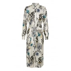 Gestuz Long Shirt with Flower Print