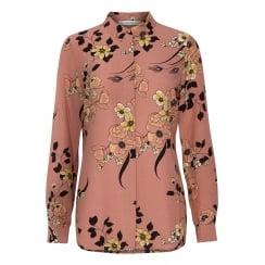 Gestuz Pink Floral Shirt
