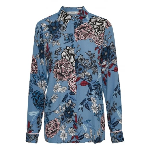 Gestuz Shirt with Flower Print