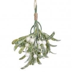 Danish Collection Snowy Mistletoe Bundle - Green