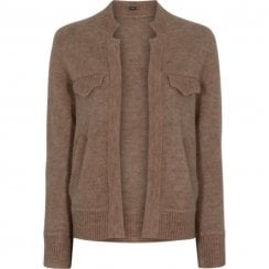 Gustav Bera Knit Cardigan - Brown