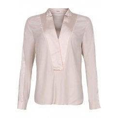 Gustav Blazer Shirt - Pearl