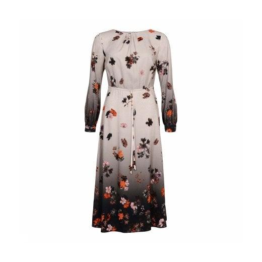 Gustav Dress with Flower Print