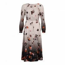 Gustav Dress with Flower Print