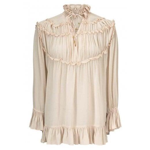 Gustav Frill Shirt - Cream