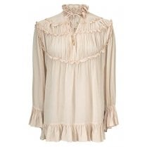 Gustav Frill Shirt - Cream