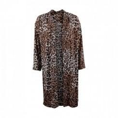 Gustav Leopard Print Kimono