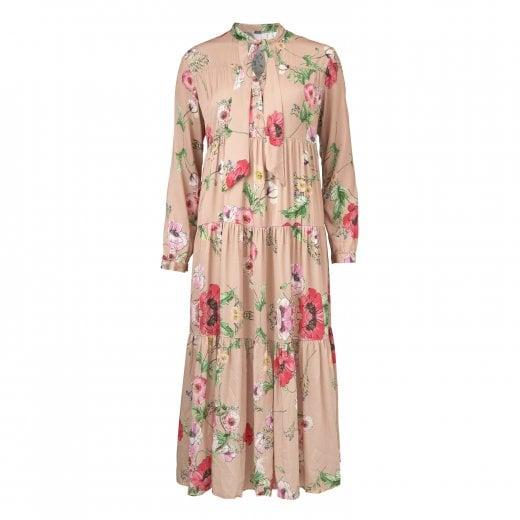 Gustav Long Printed Dress