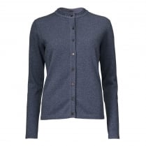 Gustav Lurex Cardigan - Navy Blue
