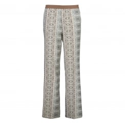 Gustav Printed Straight Leg Trouser