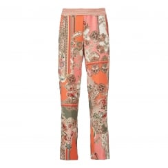 Gustav Printed Wide Leg Trouser
