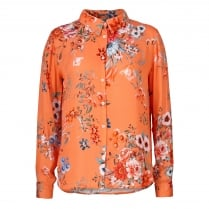 Gustav Shirt with Flower Print
