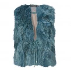 Gustav Short Fur Vest