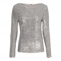 Gustav Sparkly Blouse - Silver