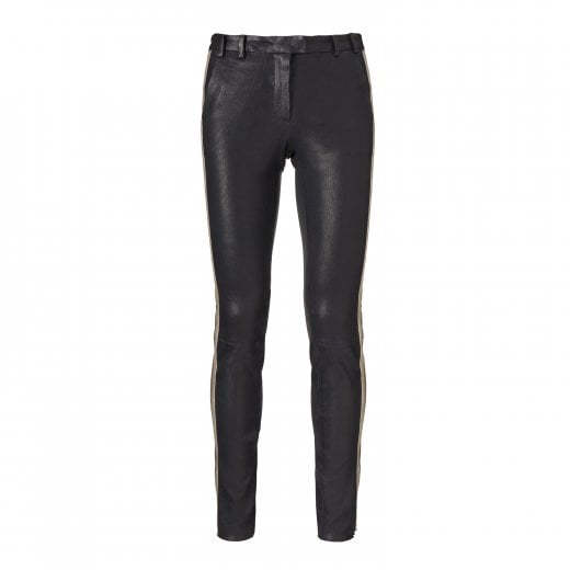 Gustav Stretch Leather Trousers