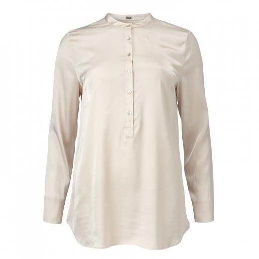 Gustav Stretch Shirt - Cream