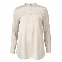Gustav Stretch Shirt - Cream