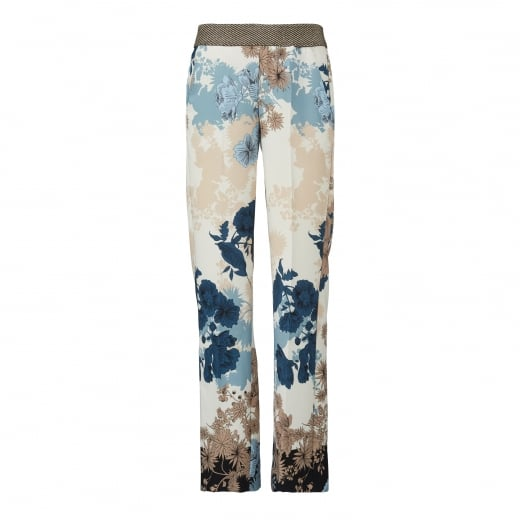 Gustav Wide Leg Printed Trouser