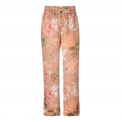Gustav Wide Printed Trousers