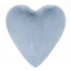 Helen Moore Boudoir Heart Cushion - Haze