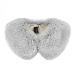 Helen Moore Children's Fake Fur Peter Pan Collar - Opal