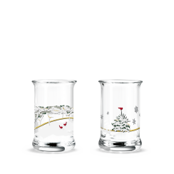 Holmegaard/Rosendahl Christmas Dram Glassses
