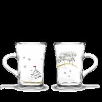 Holmegaard/Rosendahl Christmas Hot Drinks Glasses
