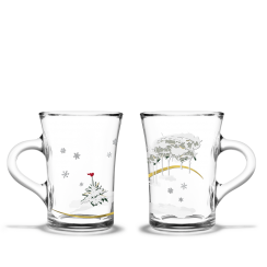 Holmegaard/Rosendahl Christmas Hot Drinks Glasses
