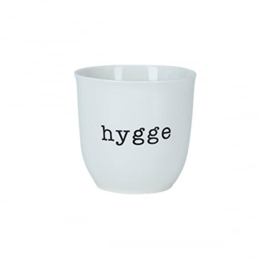 "Danish Collection White ""Hygge"" Mug"